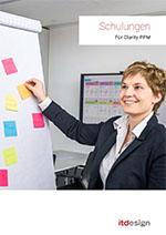 Clarity PPM Schulungen von itdesign Preview