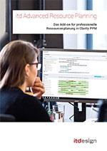 itd Advanced Resource Planning für Clarity PPM Broschüre Preview