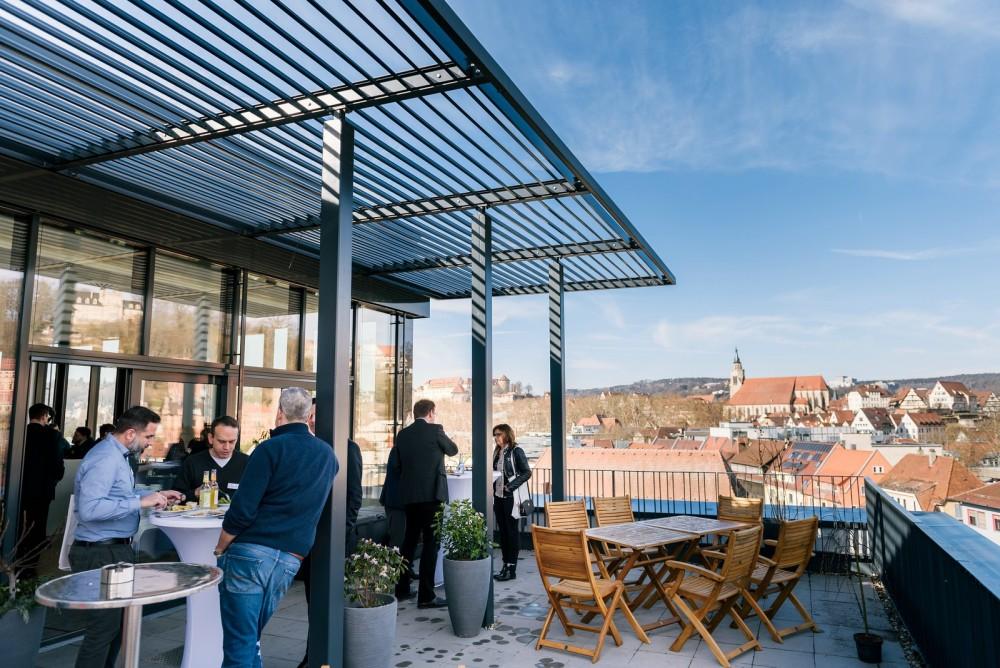 PPM Konferenz 2019 | Tübingens berühmteste Dachterasse